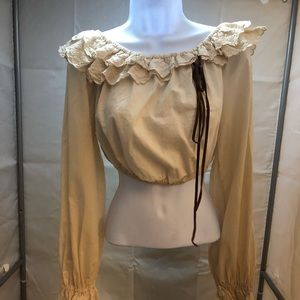 Dolce Cabana Off Shoulder New Blouse